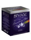 Чай Svay Strawberru Chic (Клубничный шик) Для чайников (20 пирамидок по 5гр.)